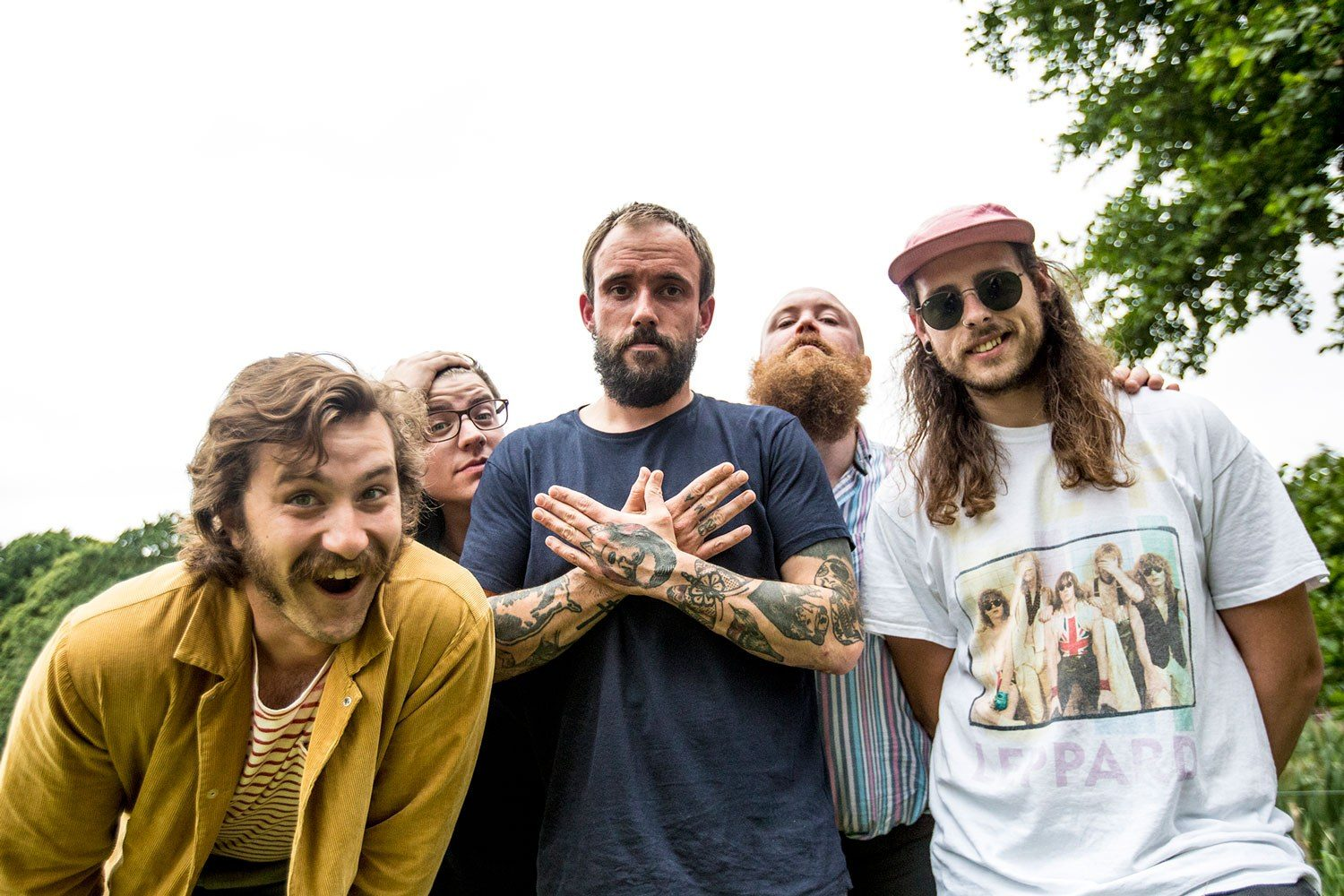 Punk band Idles to launch first major showcase at Warrington's new Live Bar