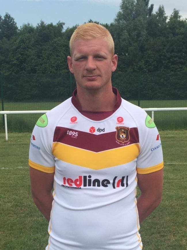 Danny Brown was a try-scorer for Latchford Albion against Hindley
