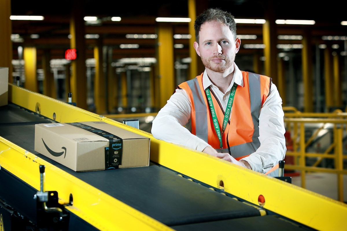Adam Loughran is one of hundreds of Amazon associates who has taken part in the programme.
