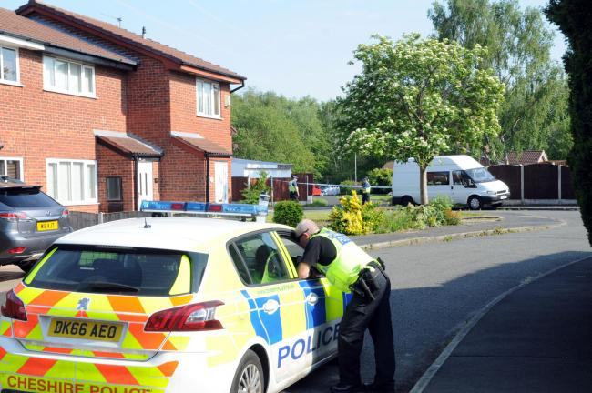 Homes on Livingstone Close in Old Hall were evacuated after a grenade was found in the area.