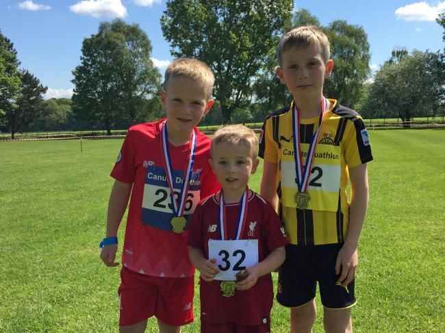 Smart Financial Canute Kids Duathlon at Lymm High School on Sunday, May 12. Picture: Helen Murray