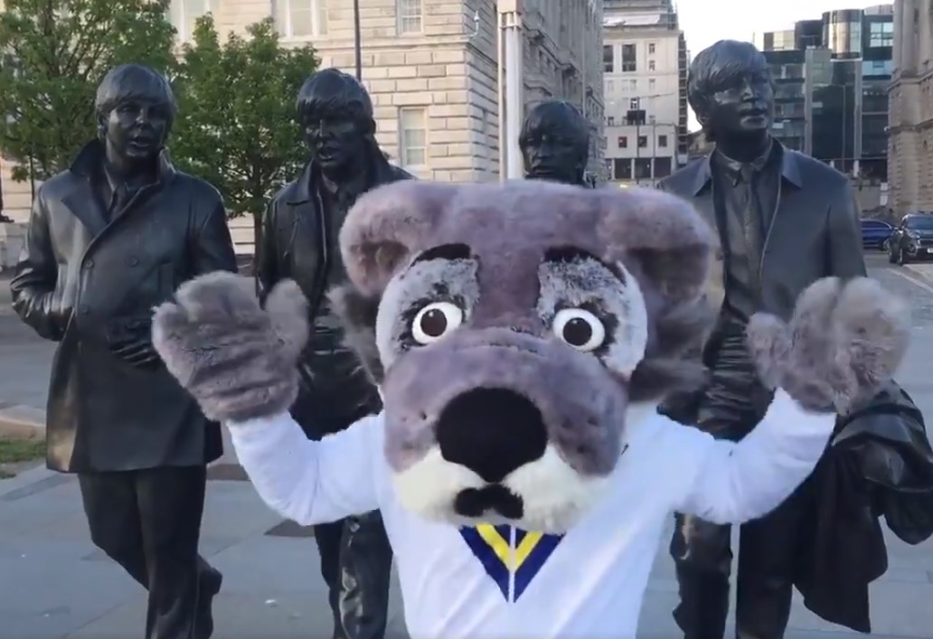 Wolfie goes to Liverpool ahead of Magic Weekend
