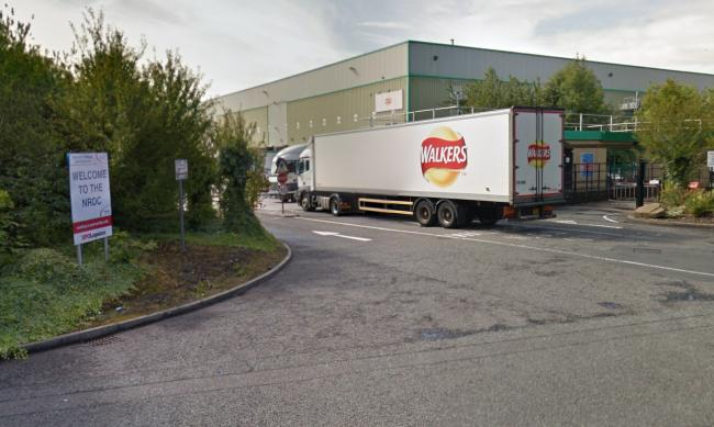 The Walkers Crisps depot on Leacroft Road in Birchwood. Picture by Google Maps.