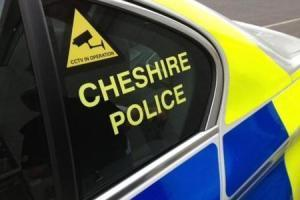 Library picture of Cheshire Police car