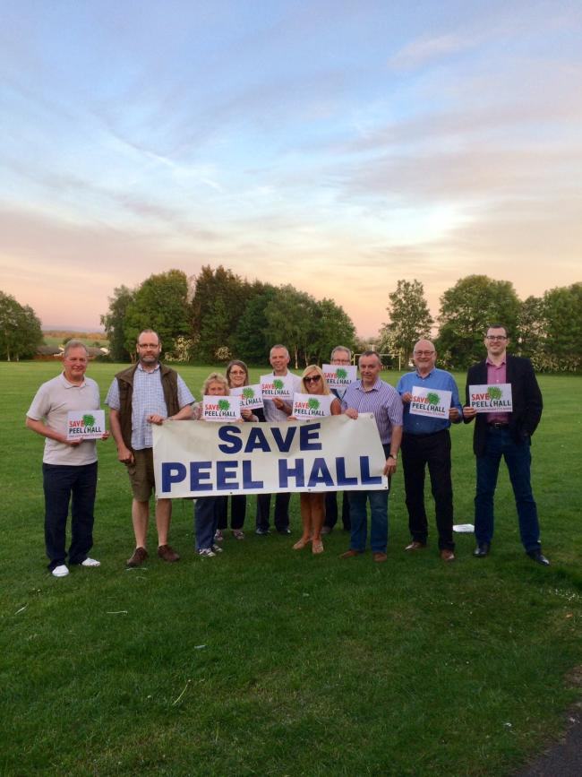 Campaigners and councillors have been battling to protect Peel Hall from development