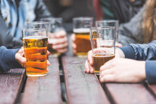 People drink more than twice a week