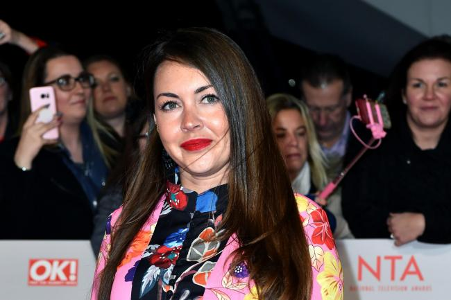 Lacey Turner at the National Television Awards 2018 – Arrivals – London