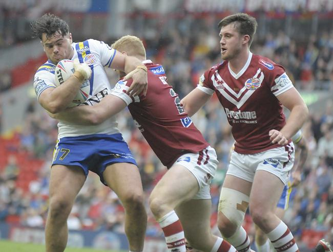 Joe Philbin in action against Wigan at last year's Magic Weekend. Picture by Mike Boden