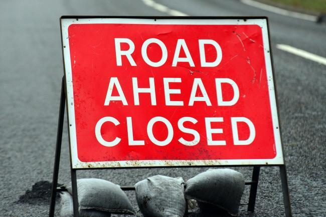 Major town centre road to close for one night next week