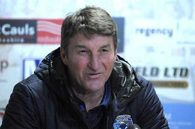 Tony Smith, former head coach of Warrington Wolves. Picture: Mike Boden