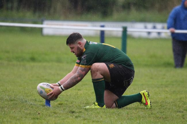 Sean Withington scored four tries and four conversions for Woolston Rovers A in the NWML Cup win over Eccleston Lions on Saturday. Picture by Gary Hilton