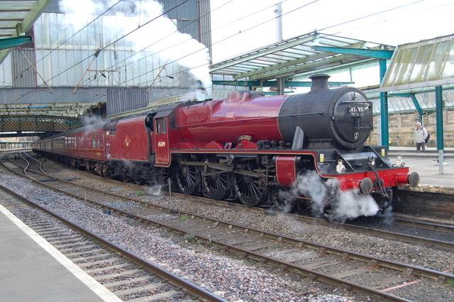 Galatea set to take Warrington day-trippers across Settle-to-Carlisle railway