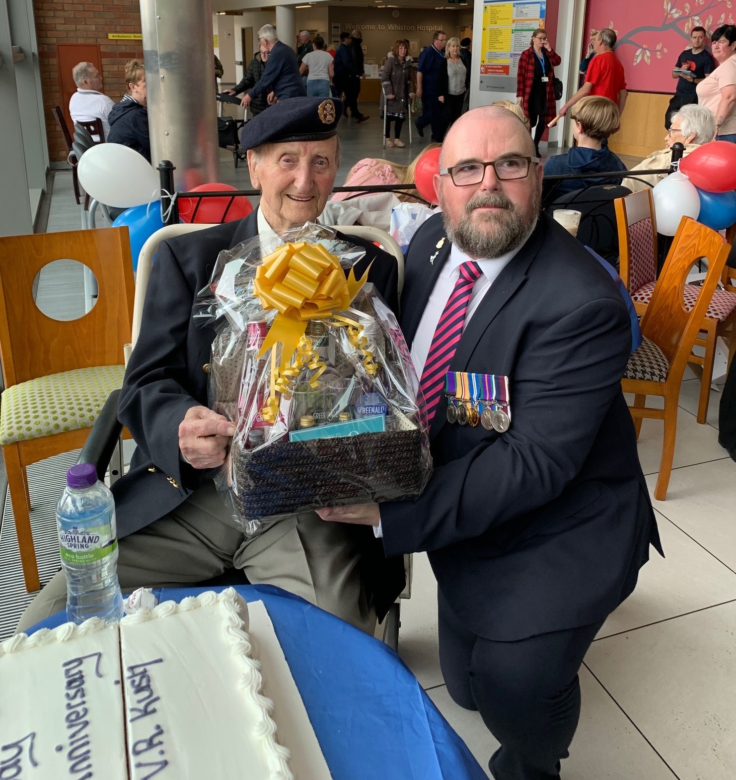 G&J Distillery pay visit to D-Day hero Raymond Rush in 75th anniversary commemorations