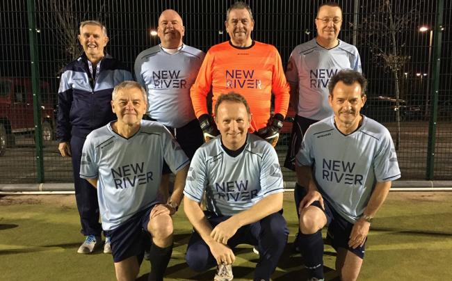 Culcheth Walking Football Club players, who recently took part in a competition to win the Culcheth Cup