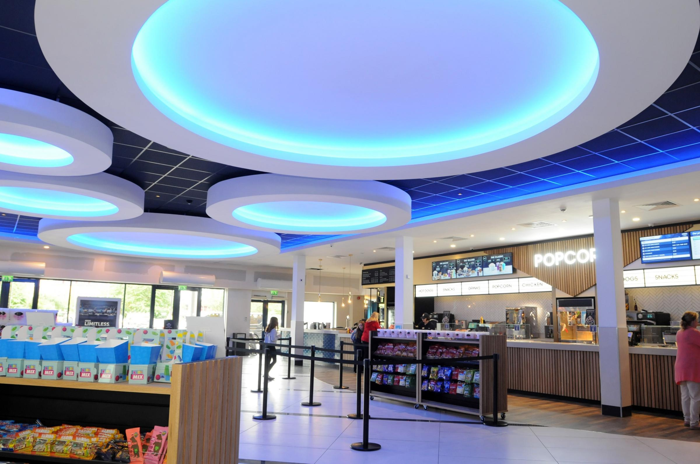 Inside Odeon Warrington after major 'Luxe' makeover
