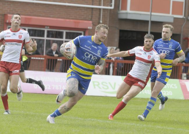 Josh Charnley has signed a new deal with The Wire. Picture by Mike Boden